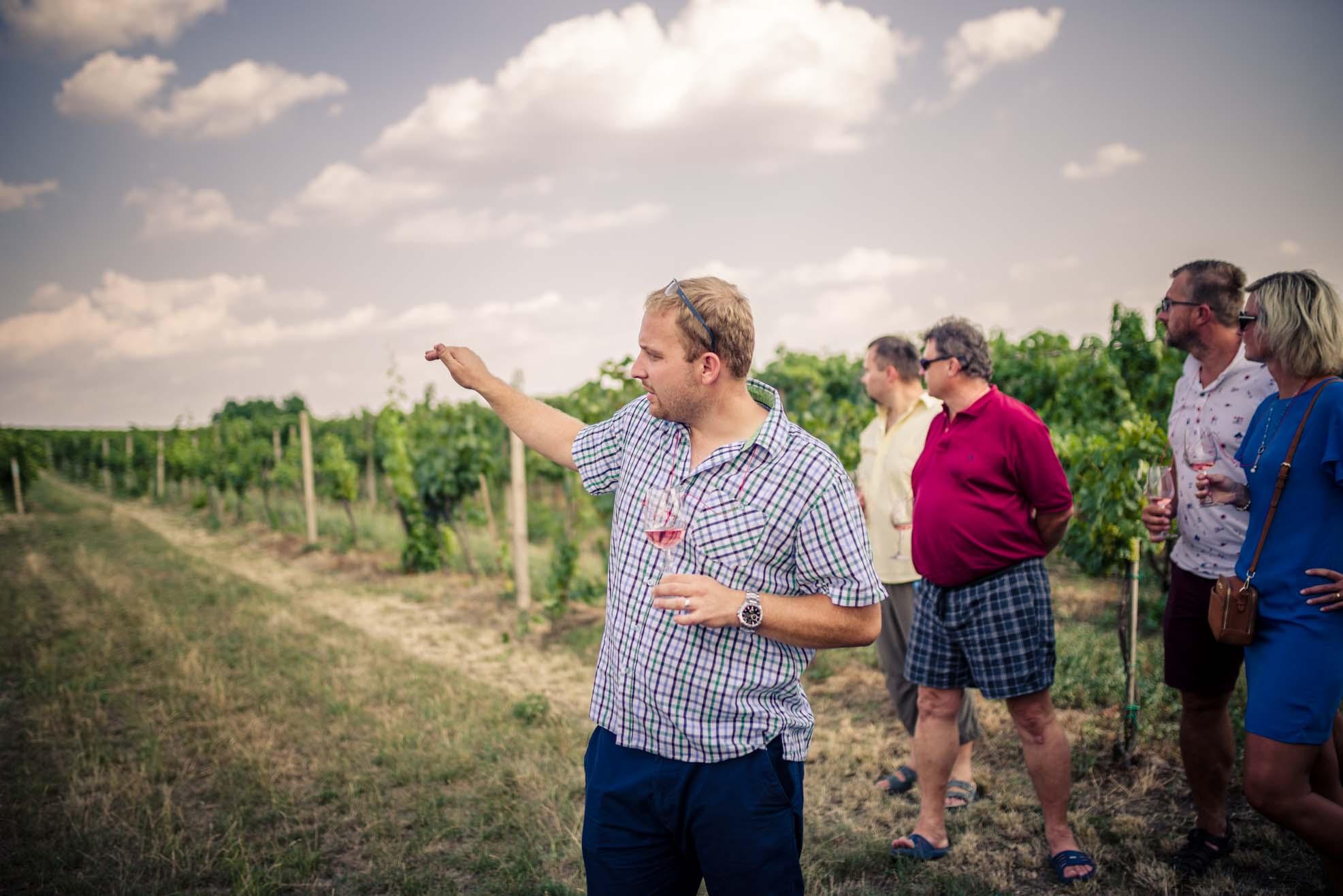 Petr Mikulica majitel vinařství.