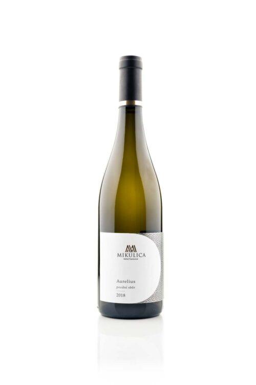 Aurelius 2018, pozdní sběr, víno z Velkých Pavlovic.