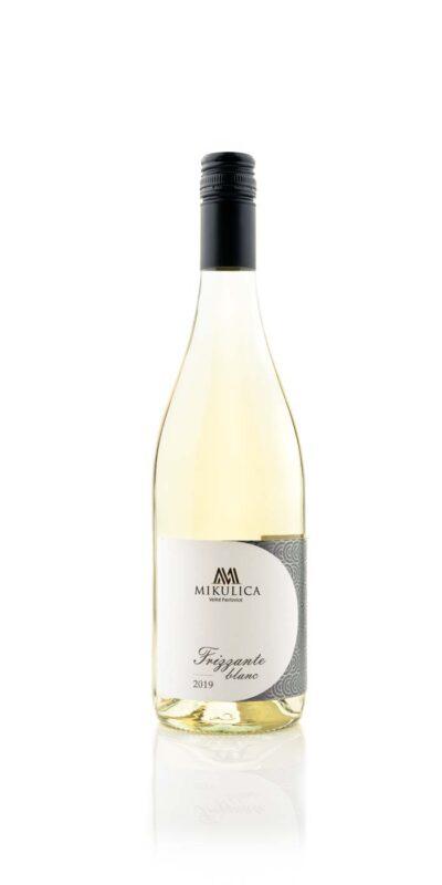 Frizzante Blanc 2019 jemně perlivé víno z Velkých Pavlovic.
