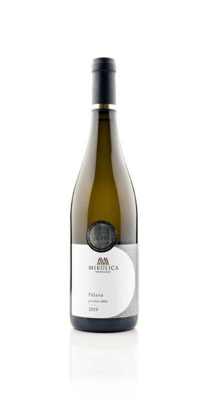 Pálava 2019, pozdní sběr, víno z Velkých Pavlovic.