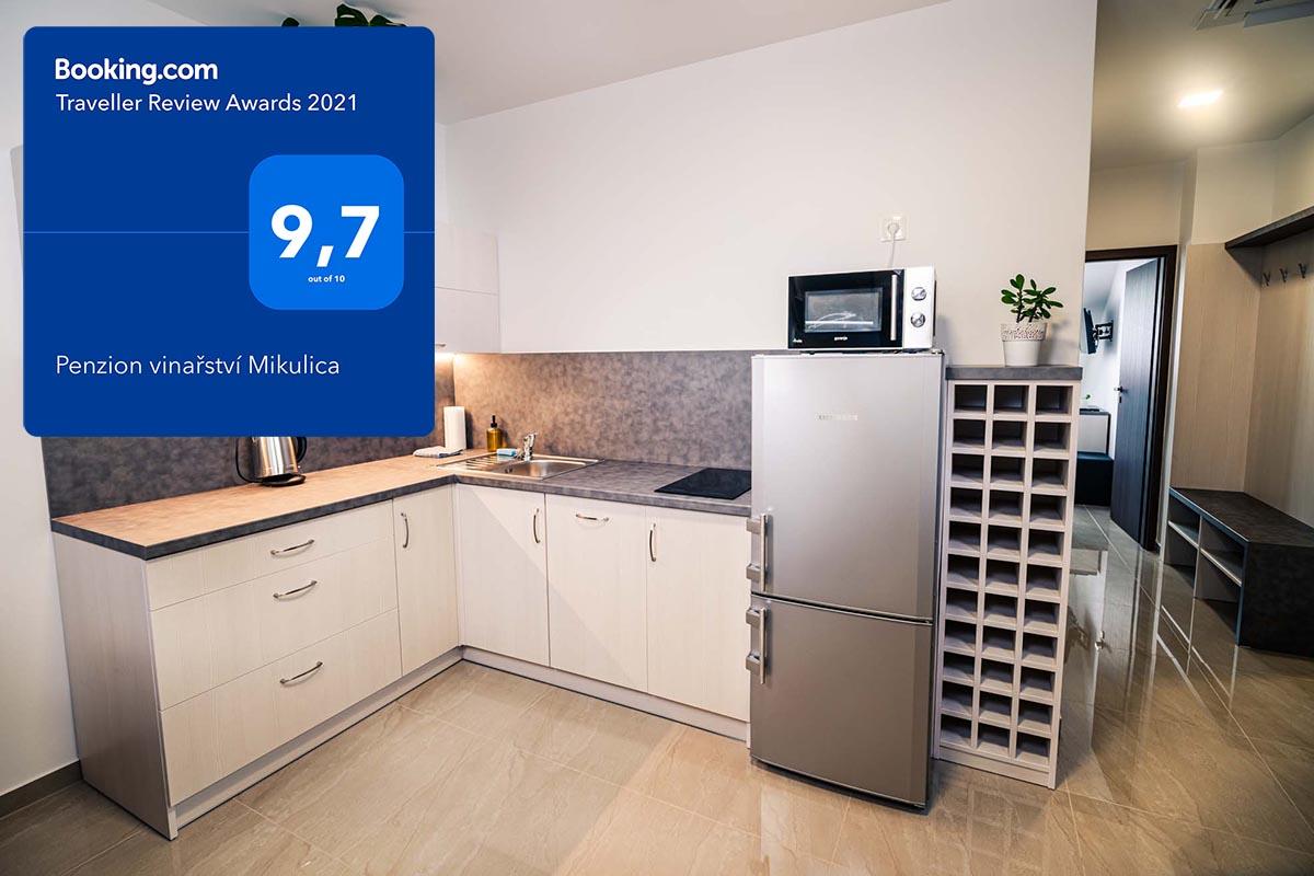 Apartmány vybavené vlastní kuchyní, Velké Pavlovice. Skvělé hodnocení na portále Booking.com.