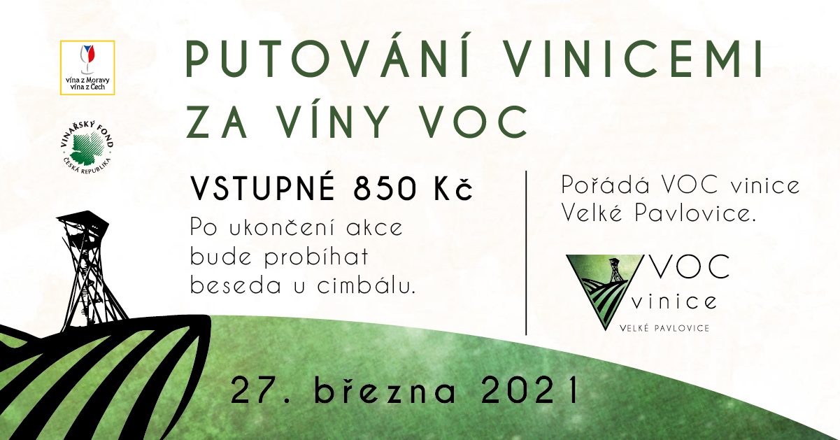 Putování vinicemi za víny VOC.
